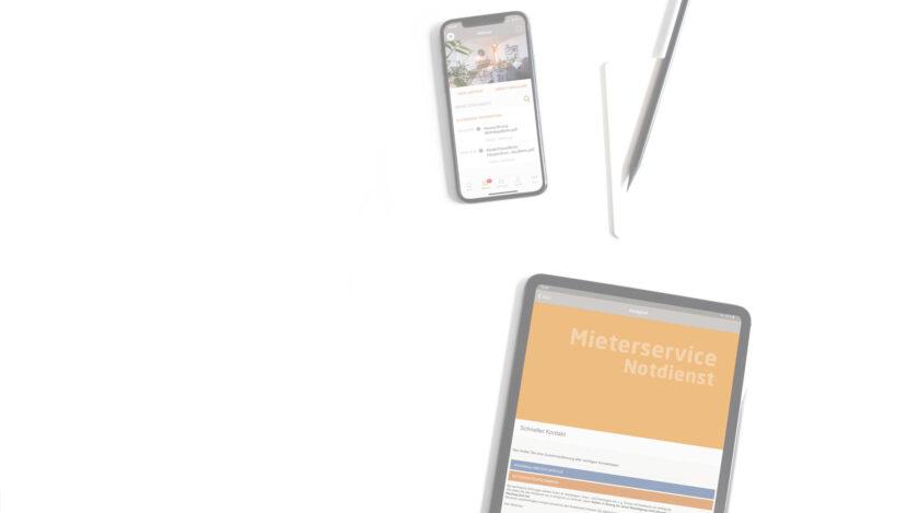 Digitalisierung und Mieterservice